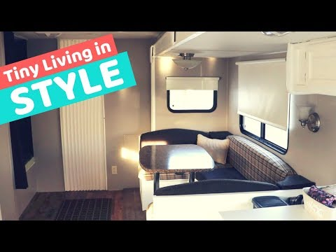 RV Before & After Tour: Modern Makeover for Full-Time Living