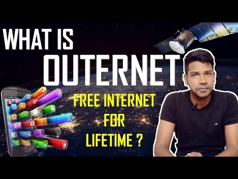What is Outernet | Free Internet for Lifetime ? [Hindi]