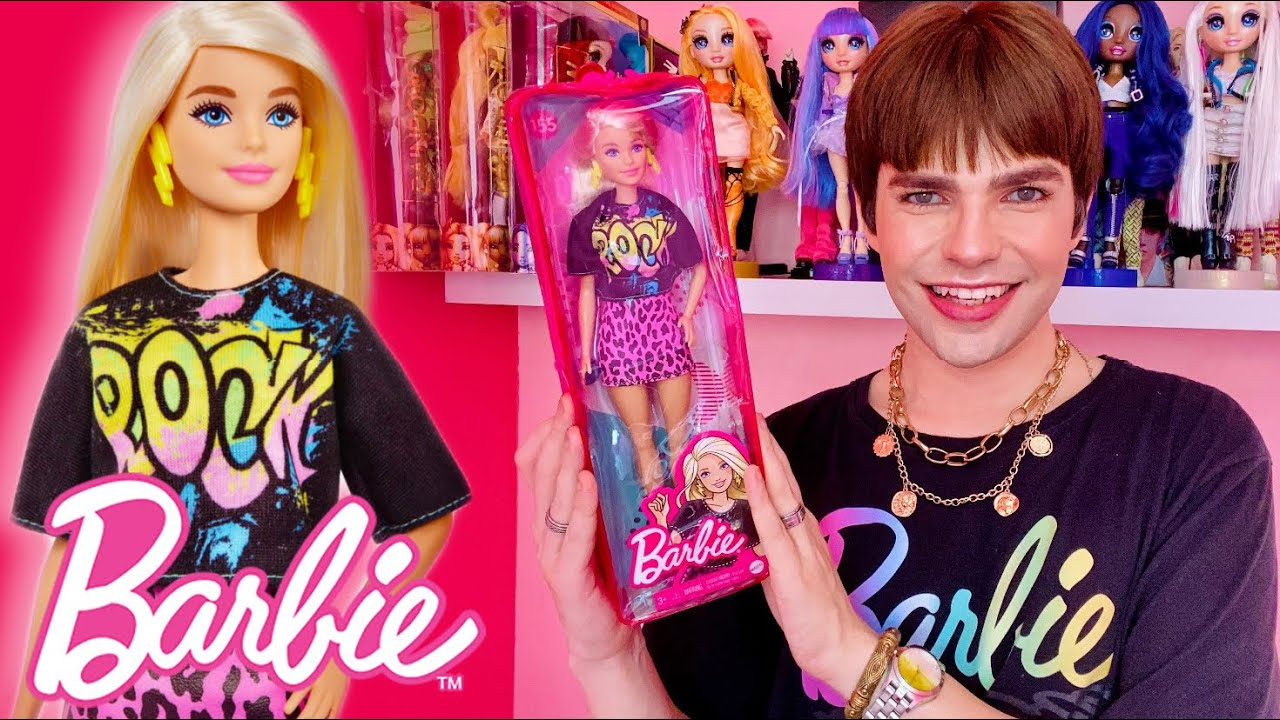 ABRINDO A ÚLTIMA BARBIE DO CANAL?! Barbie Fashionistas 155