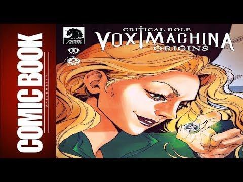 Critical Role - Vox Machina Origins #3 | COMIC BOOK UNIVERSITY