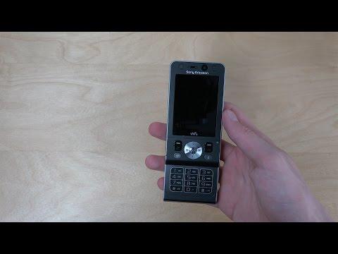 Sony Ericsson W910i - Unboxing (4K)