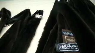 коричневая норка Махагон от компании