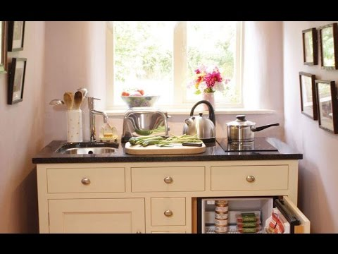 decoration petite cuisine youtube. Black Bedroom Furniture Sets. Home Design Ideas