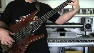 Bass Cover - Level 42 - A physical presence - with Status Series II bass