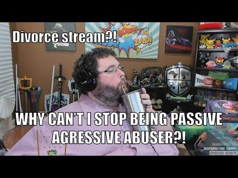 Boogie2988 - Meltdown Stream - Passive agressive wife abuser is at it again!