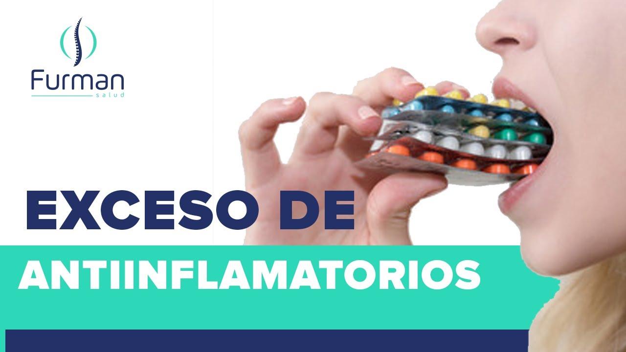 Intoxicación por exceso de antiinflamatorios