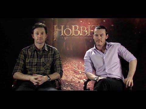Richard Armitage y Luke Evans hablan sobre la película El Hobbit, la desolación de Smaug