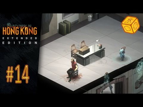 Police violence - Let's Play Shadowrun: Hong Kong - Extended Edition #14