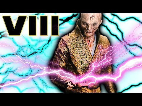 Why SNOKE'S Force Lightning Hit the Ground FIRST Explained by Rian Johnson -Star Wars The Last Jedi
