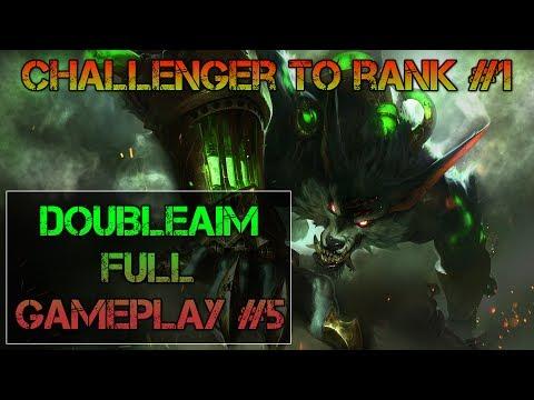 Challenger to rank #1 - Full gameplay #5 - Warwick jungle - Marrow Ooze smurfuje - Anlaki LCL