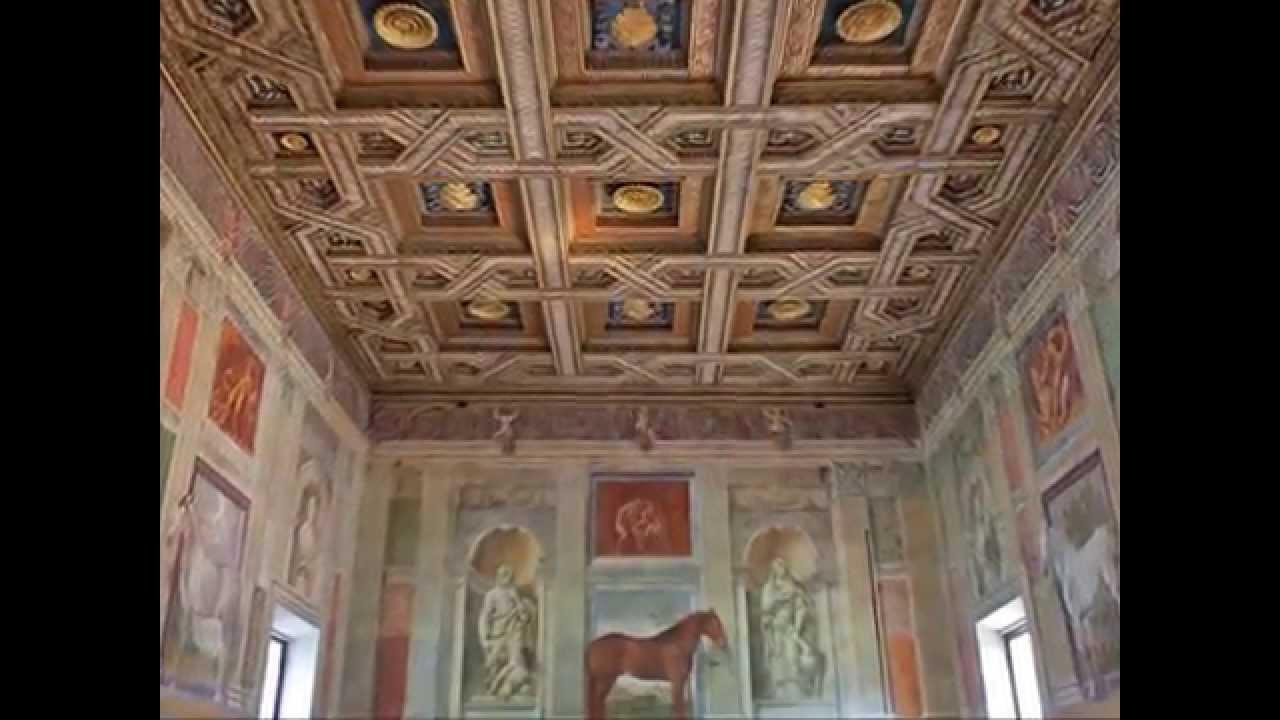 Mantova sala dei cavalli youtube for Stanza mantova