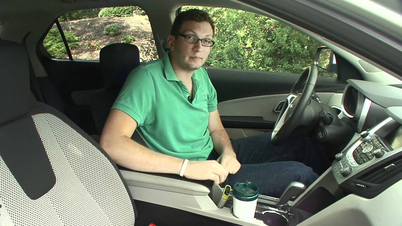 2010 Chevrolet Equinox Cargo Capabilities Youtube 2015 Chevy Interior