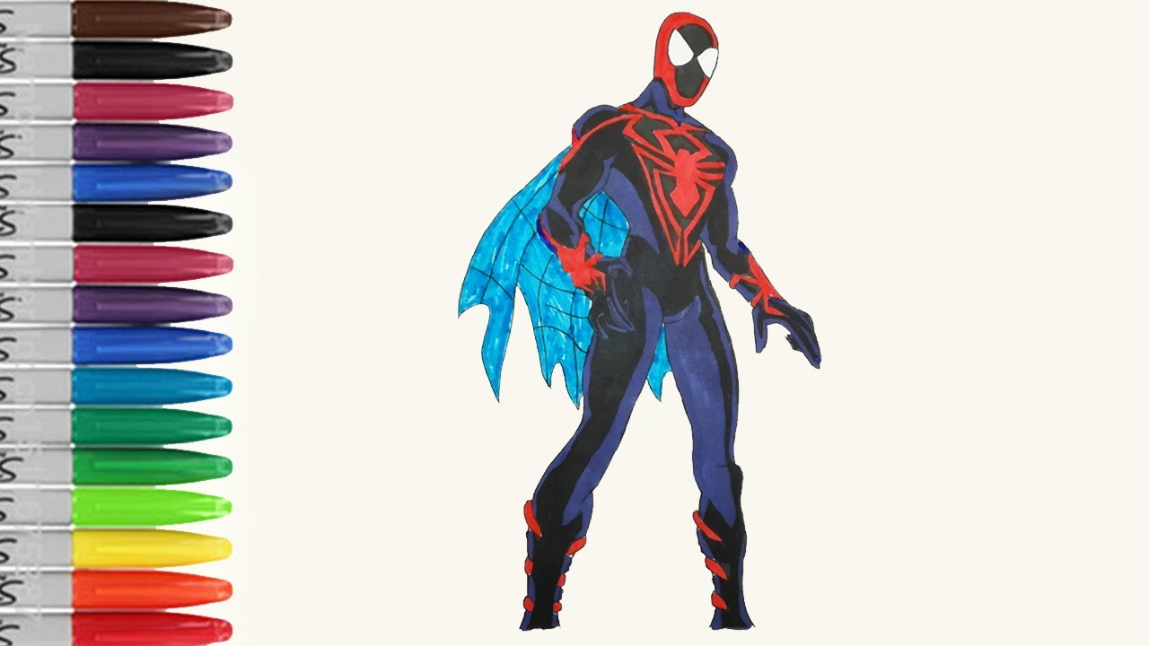 Spiderman Unlimated Shown The Wing Coloring Pages Ultimate