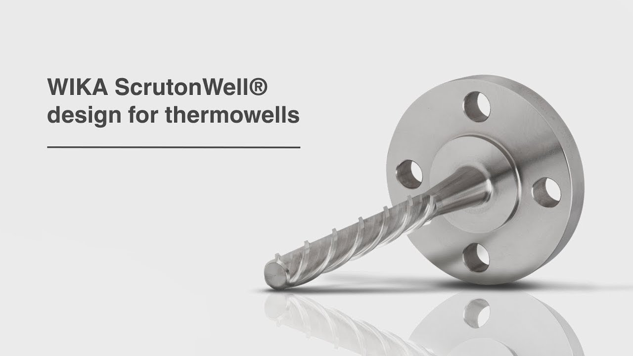 WIKA ScrutonWell® design for thermowells | Areas of application, configuration and advantages