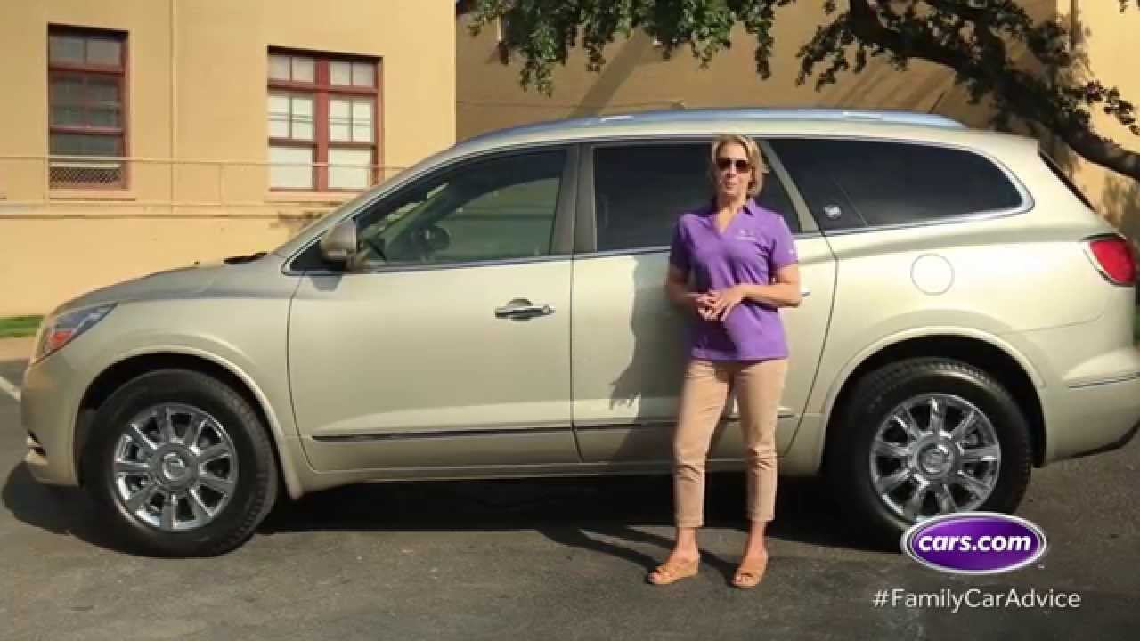 Cars.com Best Car for Big Families, the Buick Enclave, Family Car ...