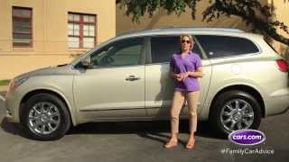 Cars.com Best Car for Big Families, the Buick Enclave, Family Car Review