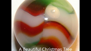 Peltier Christmas Tree & Joseph Swirl ~ Toy Marbles