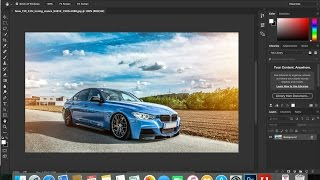 6- PhotoShop CC| | tabbed document التبويبات