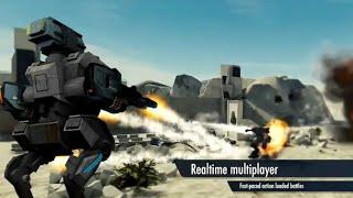 Mech battle by Djinnworks Gmbh HD gameplay