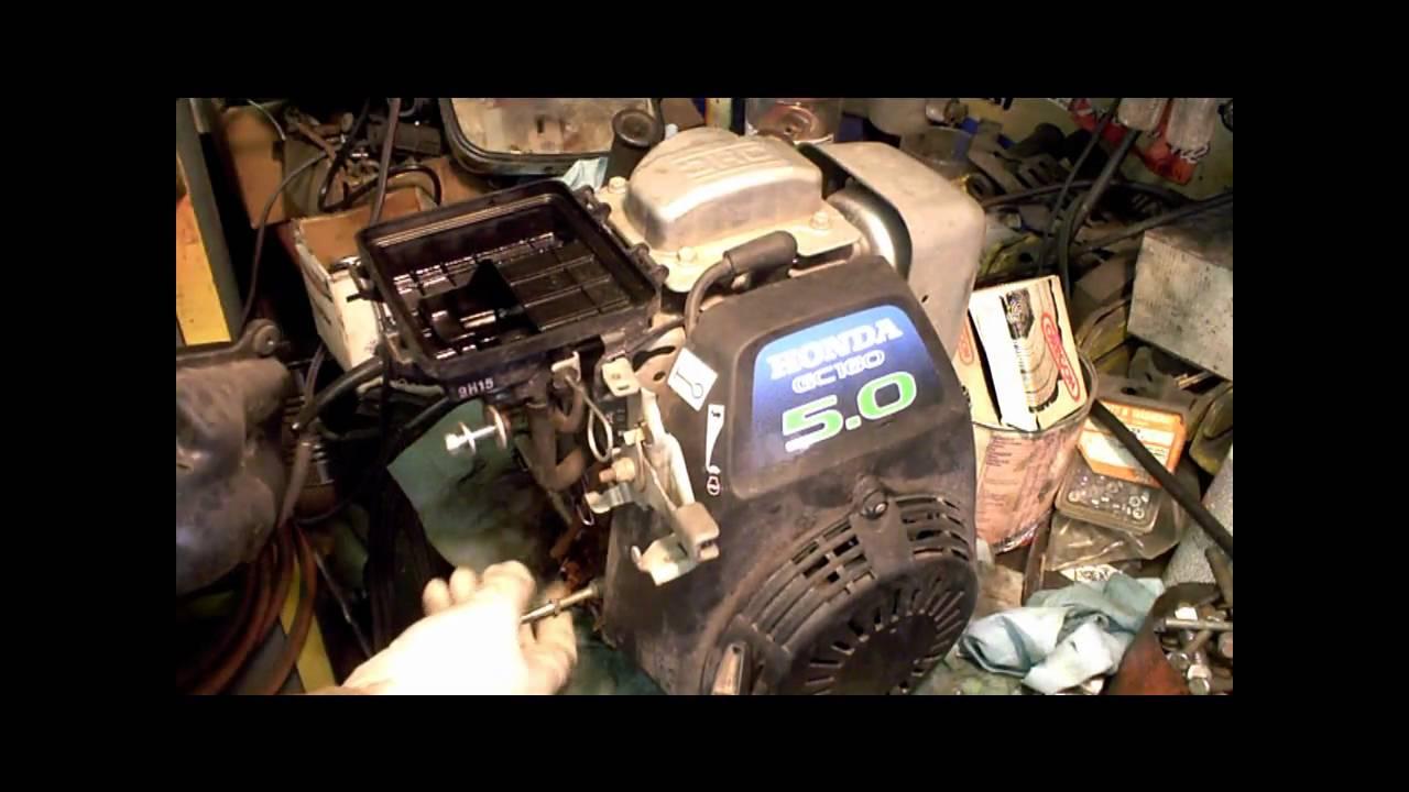 Honda Gc160 Carburetor Engine Diagram Starting Know About Wiring Gc190 Carb Rebuild Gcv160 Part 2 Of Youtube