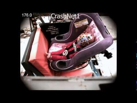 Child Seat Crash Test Graco My Ride 65 Convertible Car Rear Facing Side Impact