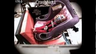 Child Seat Crash Test | Graco My Ride 65 Convertible Car Seat | Rear Facing, Side Impact Test