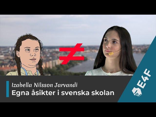 Yttrandefrihet och svenska skolan