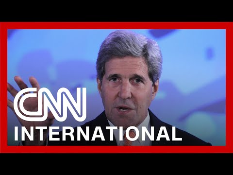 Kerry seeks common ground in climate talks with China