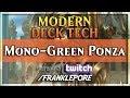(Magic Online) Modern Deck Tech: Mono-Green Land Denial
