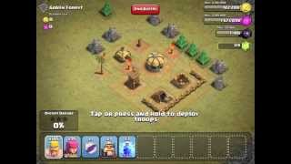 Clash Of Clans Single Player- Goblin Forest #2