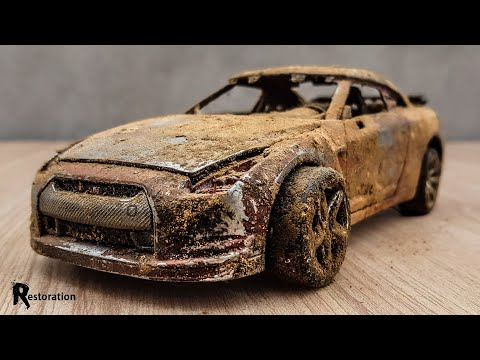 Restoration Abandoned Nissan GTR Sport Model Car