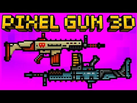 RANGER RIFLE & TACTICAL RIFLE Pixel Gun 3D