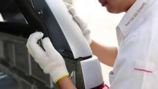 Installation Fiberglass Hardtop for Chevrolet Colorado [CCGD-S560]