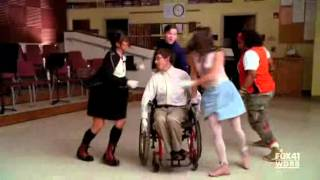 Download Glee - Sit Down, You're Rockin' the Boat with Lyrics MP3 song and Music Video