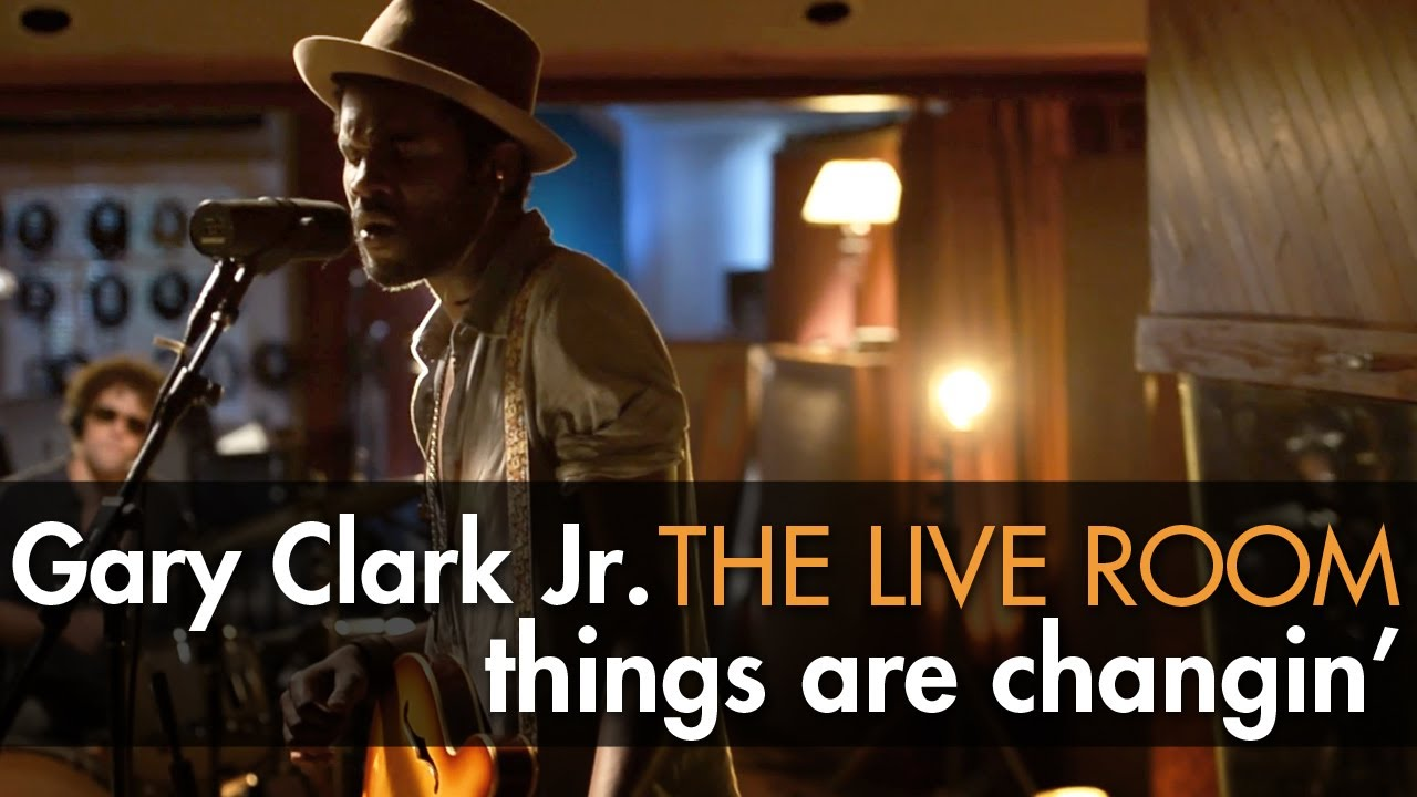 gary clark jr things are changin captured in the live room youtube. Black Bedroom Furniture Sets. Home Design Ideas