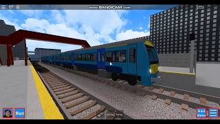 Trains at stations around the map | Grand Continental Railways | Roblox