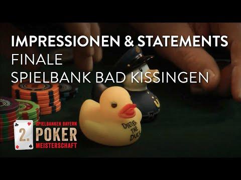 Impressionen & Statements von der 2. Spielbanken Bayern Pokermeisterschaft in Bad Kissingen