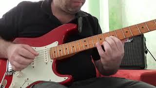 """Guitarra, Aula 71 - """"Ao Único que é Digno..."""", Bené Gomes."""