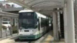 豊橋鉄道 市内線 800形, tramcar type 800 in Toyohashi