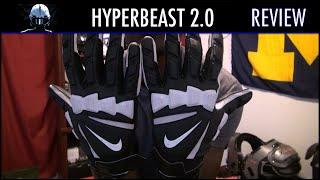 d530d5639287b Nike Hyperbeast 2.0 Lineman Football Gloves Review - Ep. 200