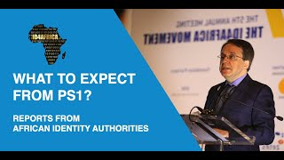 One minute with Dr. Atick: Episode 2 - What can we expect from PS1? Identity Authorities' Reports
