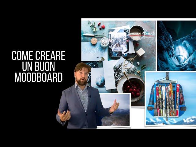 Come fare un moodboard nella moda? A cosa serve? Ecco un mio lavoro commentato
