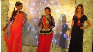 First time Taarak mehta team Dayaben, Babita ji n Anjali bhabhi walk on ramp
