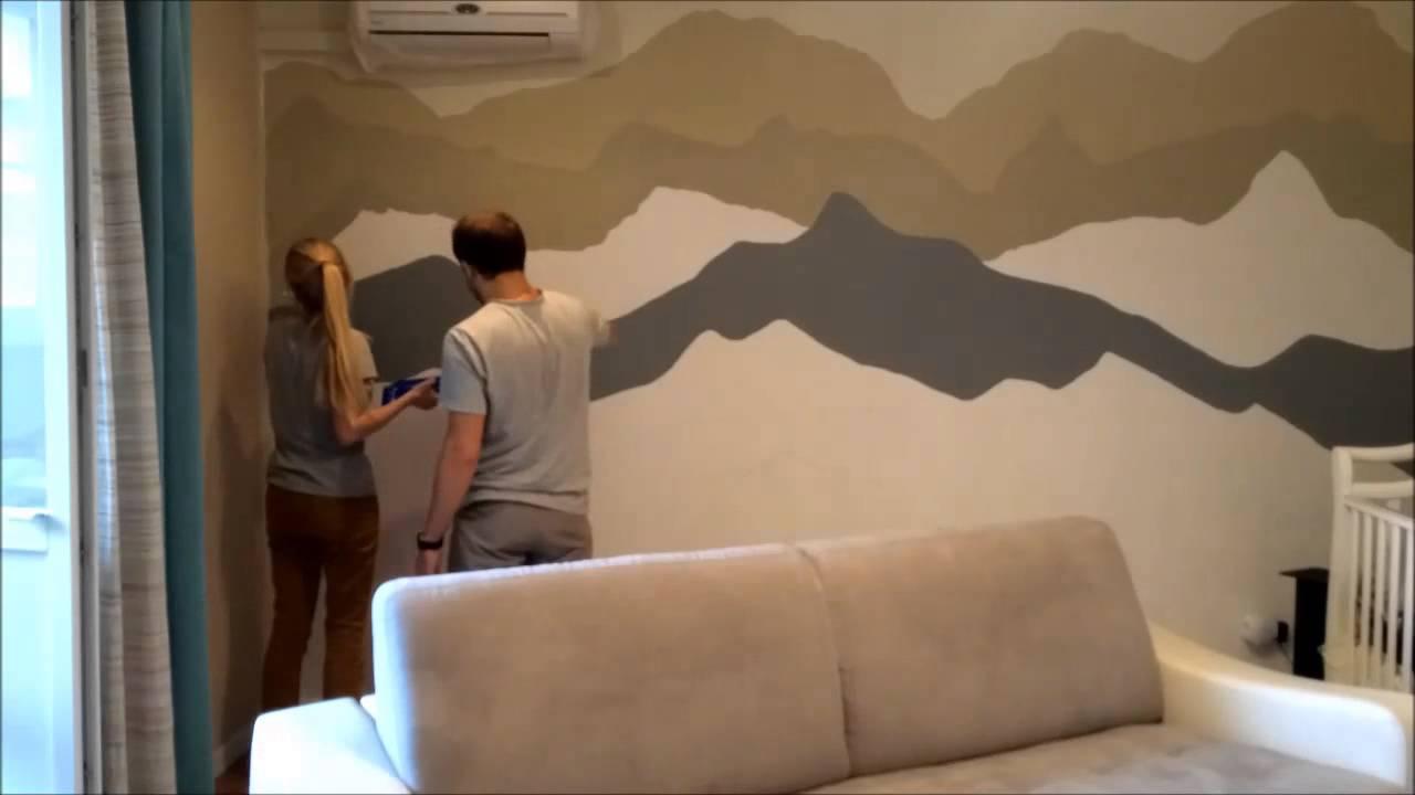 Дизайн покраски стен своими руками фото фото 793