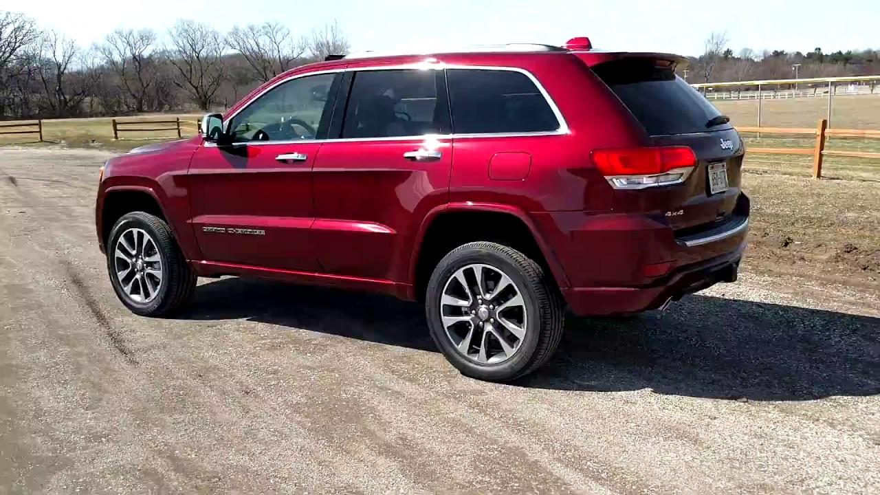 Grand Cherokee Overland >> 2017 Jeep Grand Cherokee Overland Tour & Walk Around - YouTube