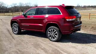 2017 Jeep Grand Cherokee Overland Tour & Walk Around