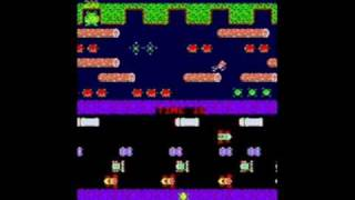Frogger (Arc) Gameplay
