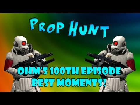 PROP HUNT BEST MOMENTS!   Prop Hunt #100 (Highlights!)