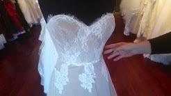 lace stretch wedding dress