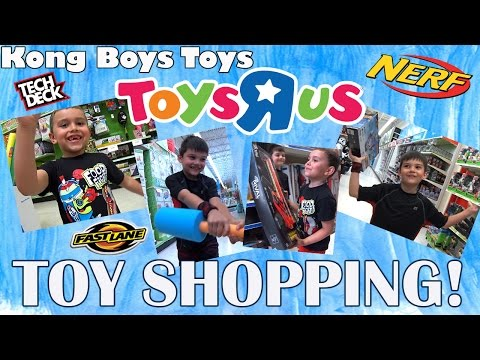 Toys R Us Fun Play And Toy Shopping! Nerf, Dude Perfect, Star Wars, RCs, Drones, Pokemon And More!